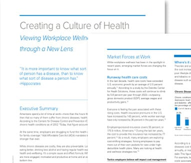 REGENCE BLUECROSS WHITE PAPER